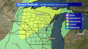 Severe weather possible for Wisconsin