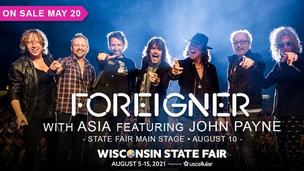 Foreigner rocks Wisconsin State Fair Main Stage on Aug. 10