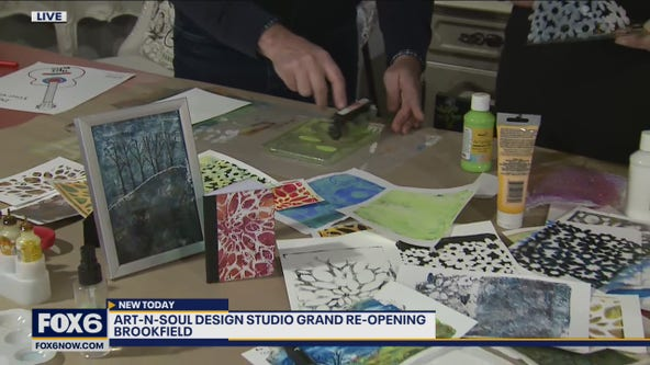 Art-N-Soul is a retail store and studio that inspires guests through art