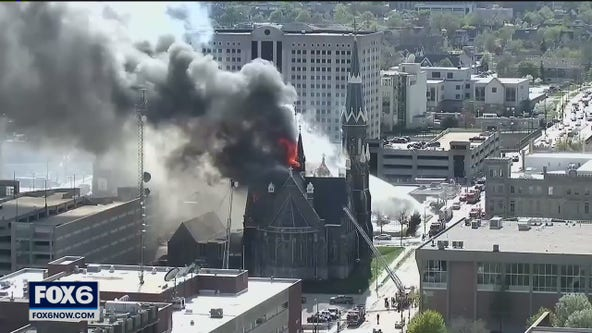 Trinity Church fire; restoration continues 3 years later