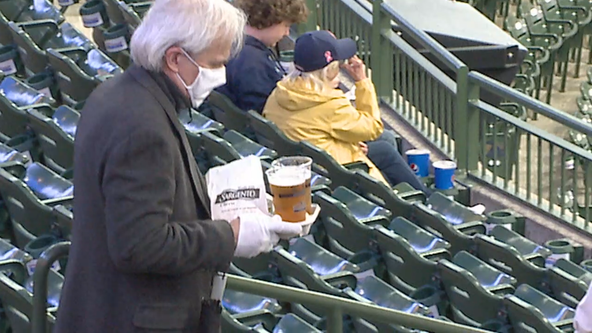 Milwaukee Brewers game capacity 50% for 1st time