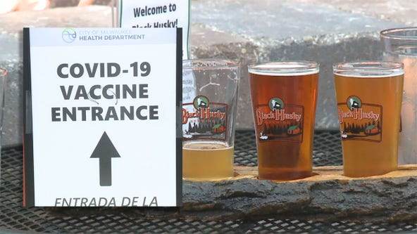 COVID vaccine: Black Husky Brewing offers beer for shots