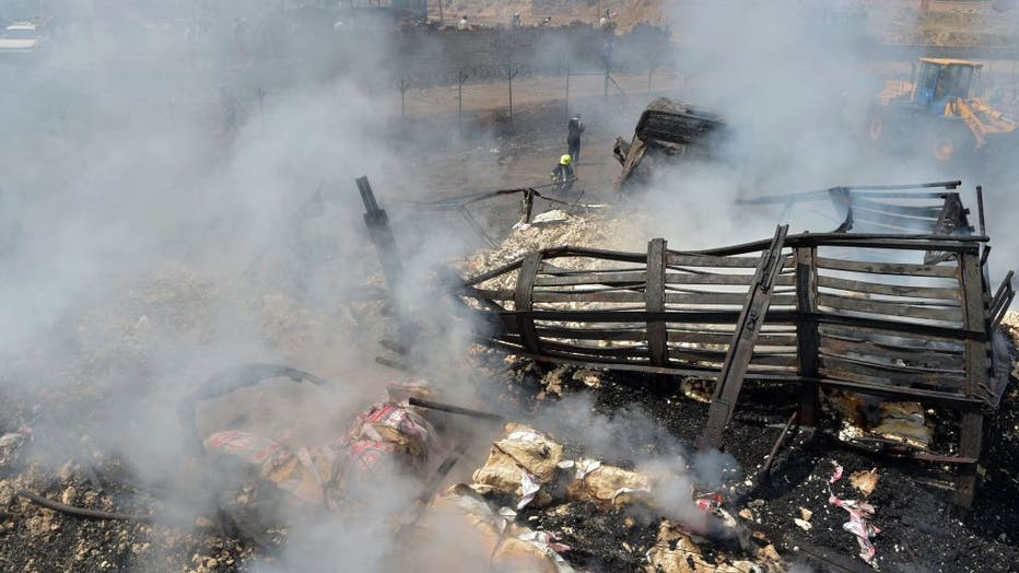 AFGHANISTAN-FIRE-ACCIDENT-FUEL