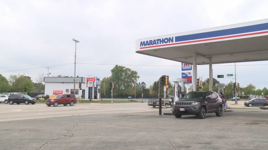 Shooting at gas station on Rapids Drive in Racine
