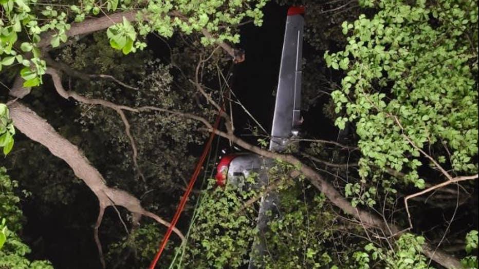 Whitewater plane crash