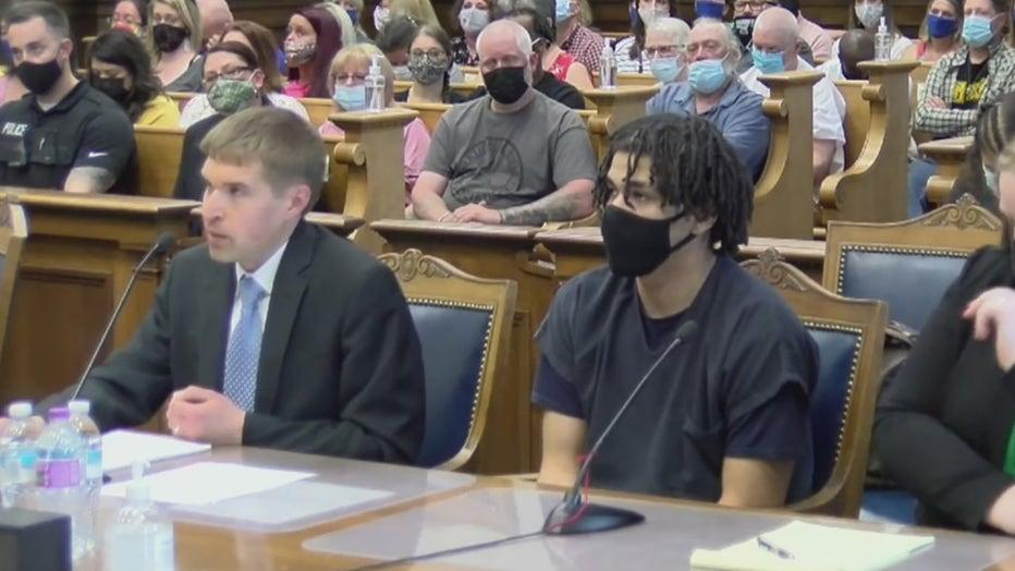 Martice Fuller sentencing in Kenosha County court