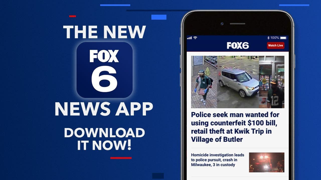 Check out the new FOX6 News app