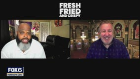 Gino talks with cast from Netflix show 'Fresh, Fried & Crispy'