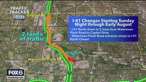 Changes coming to Zoo Interchange, North Leg Project closures