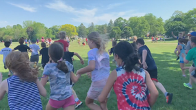 Brookfield students walk for cancer research
