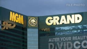 Police in Las Vegas responds to call of possibly armed suspect at MGM Grand