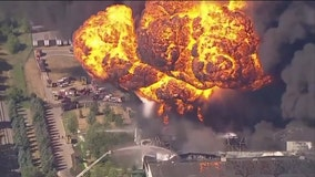 Illinois chemical plant fire: Foam used contains 'forever chemicals'