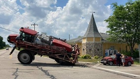 Town of Waterford tractor crash