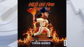 Brewers Corbin Burnes bobblehead released