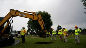 Possible Tulsa Race Massacre victims' remains being excavated