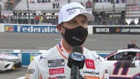 1st Denny Hamlin Road America race in NASCAR Cup Series