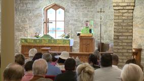 Trinity Evangelical Lutheran hosts 1st service since 2018 blaze