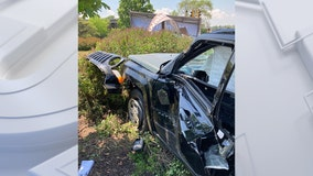 Mount Pleasant rollover accident, 2 injured