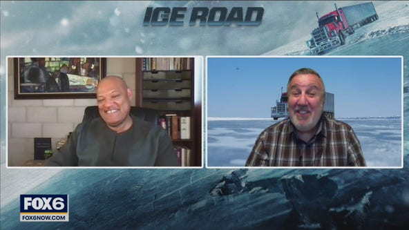 Gino talks with star from Netflix film 'The Ice Road'
