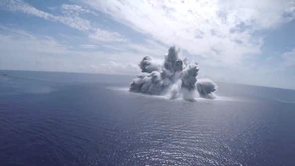 Carrier passes explosive 'shock trial,' US Navy says