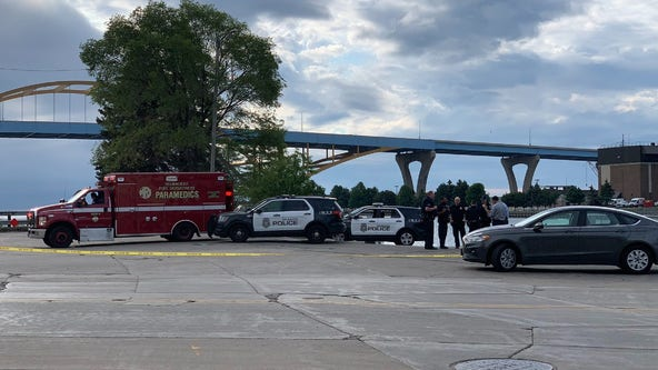 Death investigation along Milwaukee River