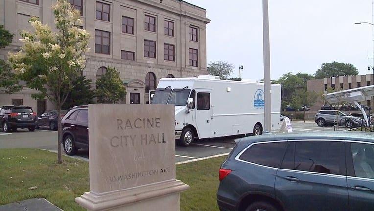 Racine Mobile Elections Vehicle