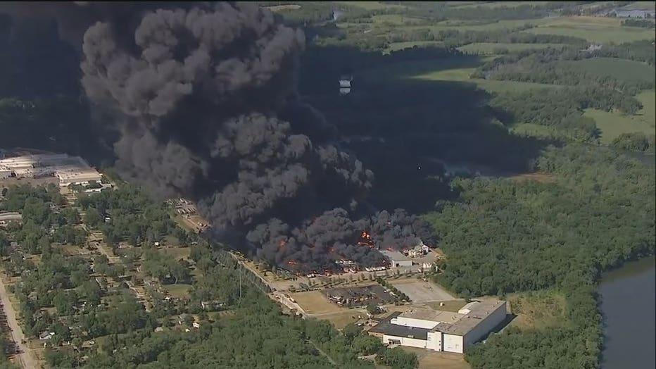 Illinois Chemtool fire