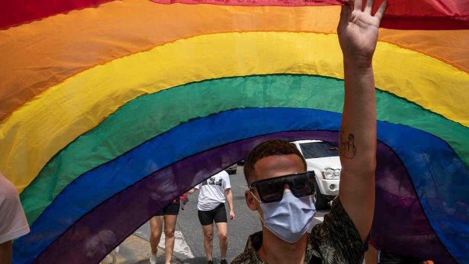 VENEZUELA-LGBTI-PROTEST