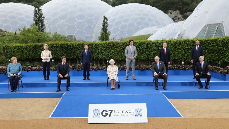2021 G7 Summit - Day One