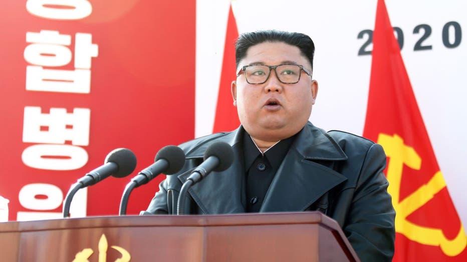 Le dictateur nord-coréen Kim Jong-un