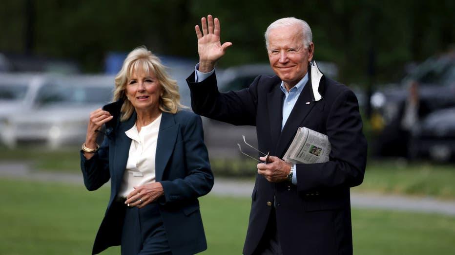President Biden Departs White House For United Kingdom