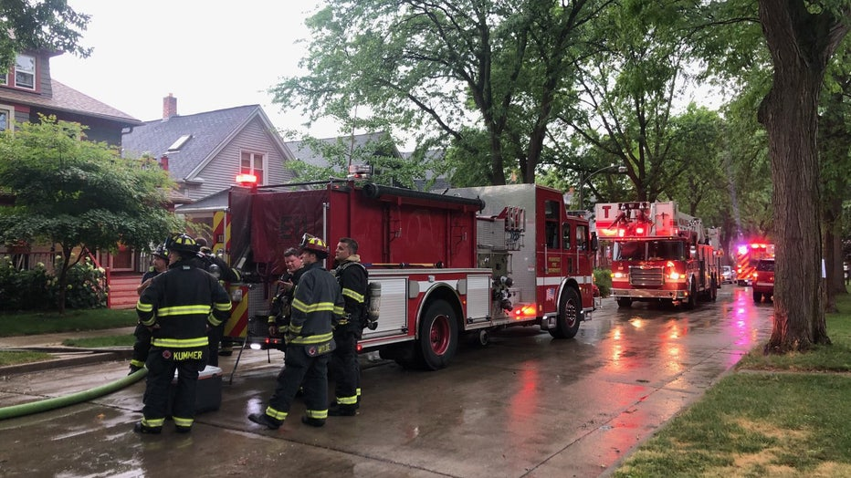 Firefighters dispatched to residence on S. Wentworth Avenue, Milwaukee