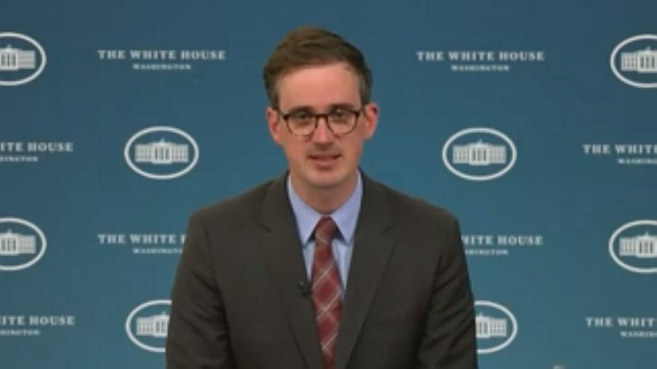 White House Deputy Press Secretary Chris Meagher