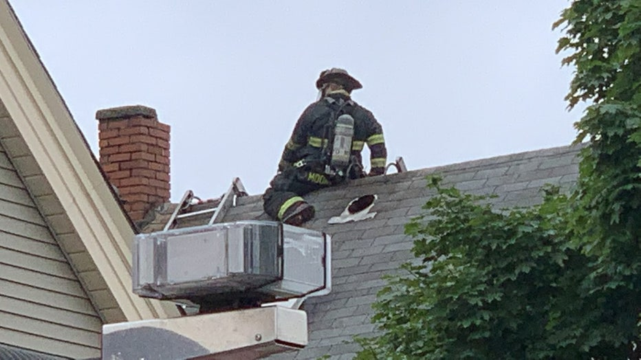 House fire near 5th and Becher, Milwaukee
