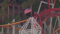 Man in custody after climbing on top of Knott's Berry Farm's Supreme Scream tower