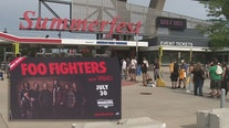 Foo Fighters play Milwaukee; city's 1st big concert since COVID
