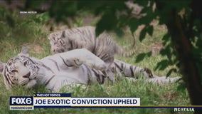 Joe Exotic's conviction upheld: TMZ