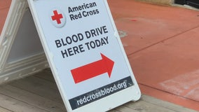 Blood donations needed; Red Cross filling appointments now
