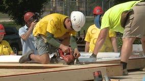 Bucks, Sargento, Habitat build Milwaukee home