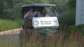 Man golfs 114 holes to raise money for veterans