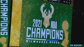 Fans celebrate Bucks' championship win across the pond
