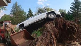 Severe storms leave damage in their wake