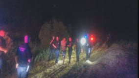 New Berlin pursuit, crash leads to arrest of man in pond