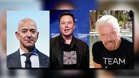 Branson, Bezos, Musk give space ETFs liftoff
