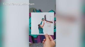 Artist immortalizes Jrue-Giannis Valley-Oop in stop-motion video