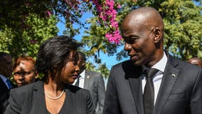 First lady Martine Moïse returns to Haiti after president assassinated