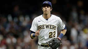 Yelich tests positive for COVID, was vaccinated
