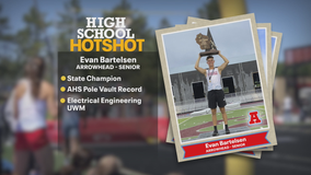Arrowhead pole vaulter finds his team, becomes state champion