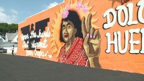 Milwaukee mural honors Dolores Huerta