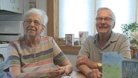 Cudahy couple celebrates birthdays, COVID recovery